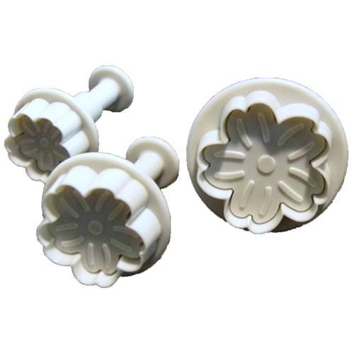 Ateco Plunger Cutters, Set of 3: Gerbera Daisy