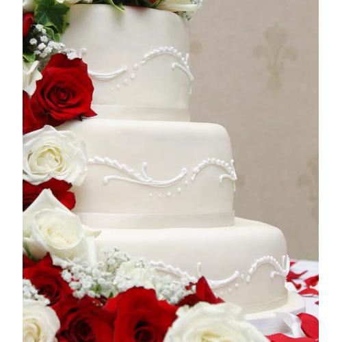 Round Tiered Cake