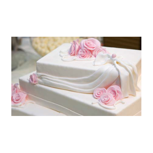 Rectangular Tiered Cake
