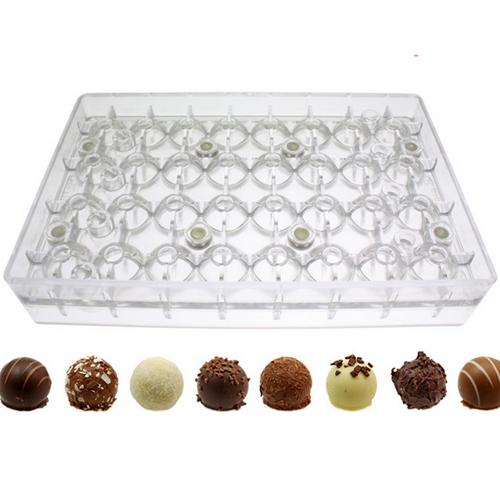 Polycarbonate Bonbon 2 pc. Magnetic Chocolate Mold