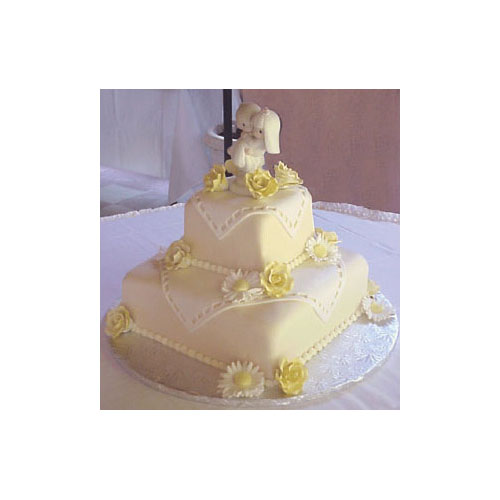Rolled Fondant, 20 lb. Container - Ivory, Certified Kosher.