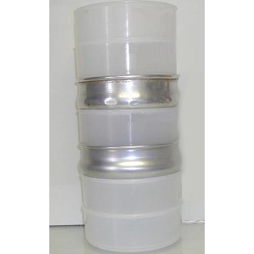 Plastic Dough Pan, Stacks with Alum. Dough-Retarding Pan, White