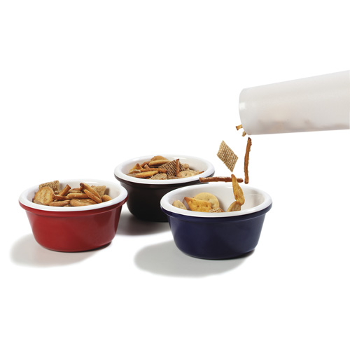Use for quick filling of snack mix or nuts