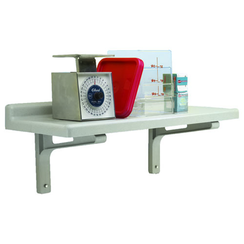 Cambro Camshelving VENTED (Slotted) Wall Shelf