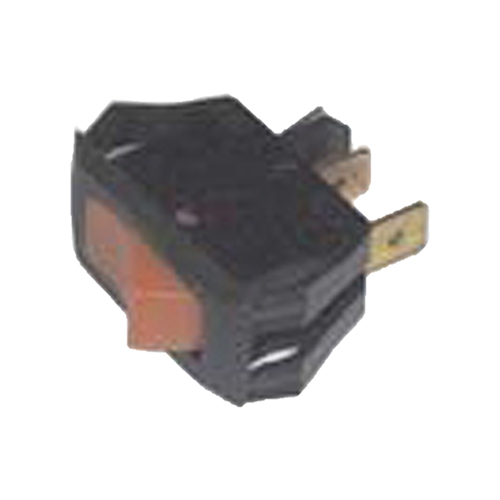 Lighted Rocker Switch for Heat Seal