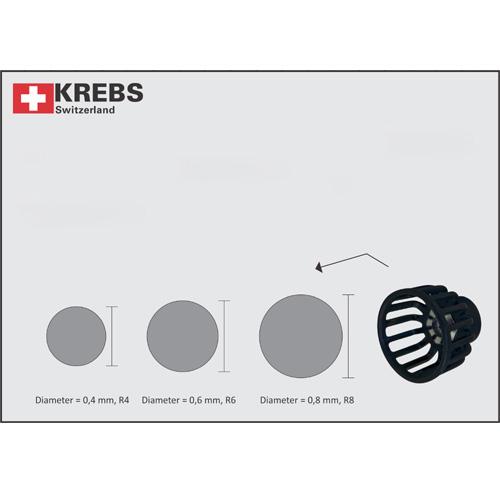 Krebs Round Jet Nozzle