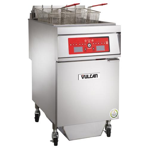 Vulcan 1ER85CF Electric Freestanding Fryer with KleenScreen PLUS