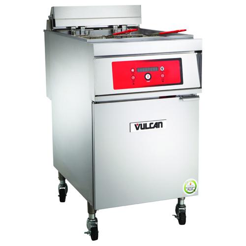 Vulcan 1ER85D Electric Freestanding Fryer - 85 lb. Oil Cap. w/ S