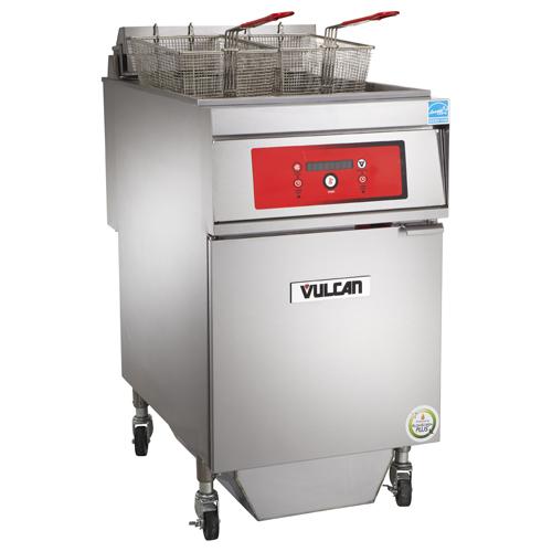Vulcan 1ER85DF Electric Freestanding Fryer with KleenScreen PLUS