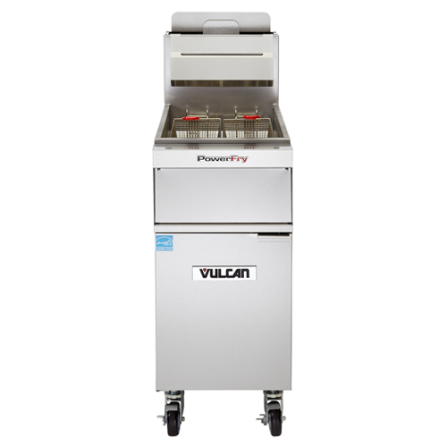 Vulcan 1VK45A PowerFry Gas Fryer - 45 lb. Oil Cap. w/ Solid Stat