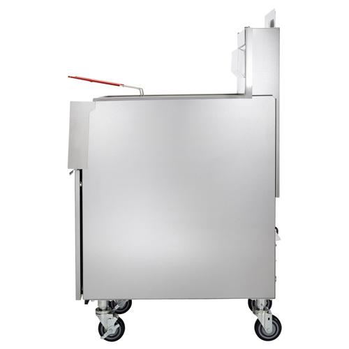 Vulcan 1VK45C PowerFry Gas Fryer - 45 lb. Oil Cap. w/ Programmab