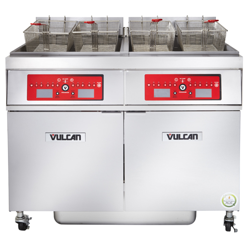 Vulcan 2ER85CF Electric Freestanding Fryer with KleenScreen PLUS