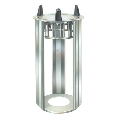 Lakeside Mobile Unheated Open Frame Dish Dispenser