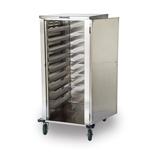 Lakeside Elite Stainless Steel Tray Delivery Cart
