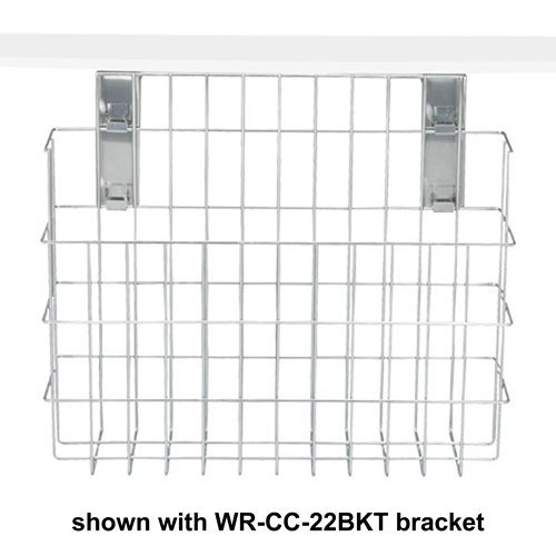 Dispense-Rite WR-CC-22 S/S Surface Mounted Wire Cup Caddy
