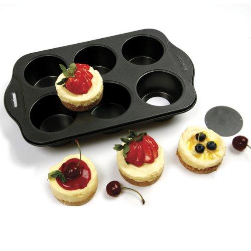 Norpro Nonstick Cheesecake Pan, 6 Cavities