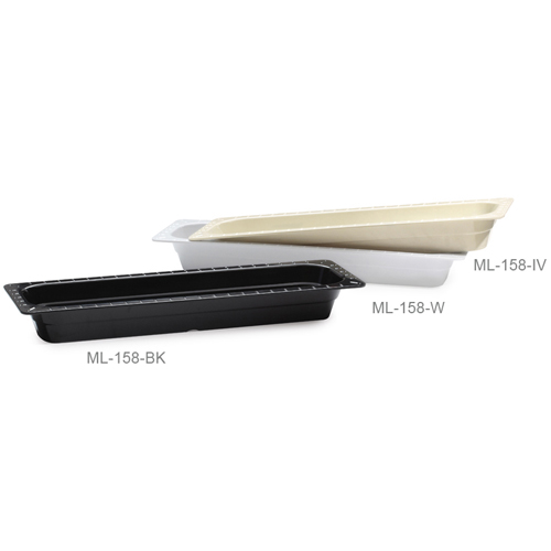 Melamine Food Pan 1/2 Size Long, 2.5