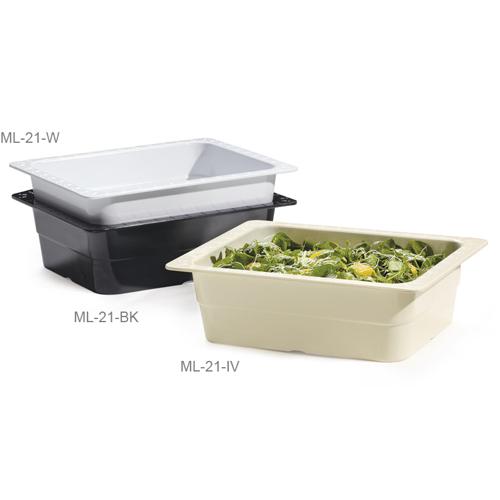Melamine Food Pan 1/2 Size Insert Pan, 13
