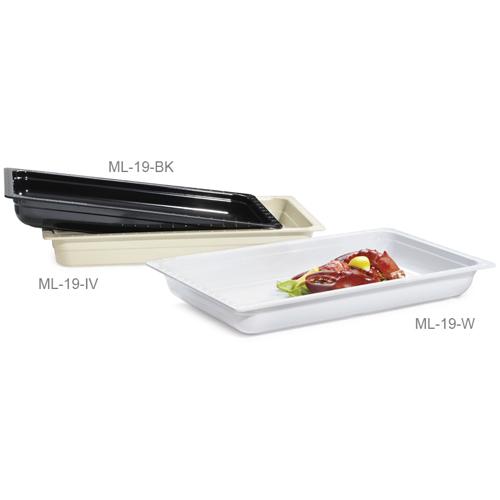 Melamine Food Pan Full Size Insert Pan, 13