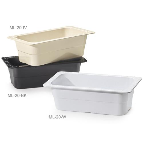 Melamine Food Pan 1/3 Size Insert Pan, 13