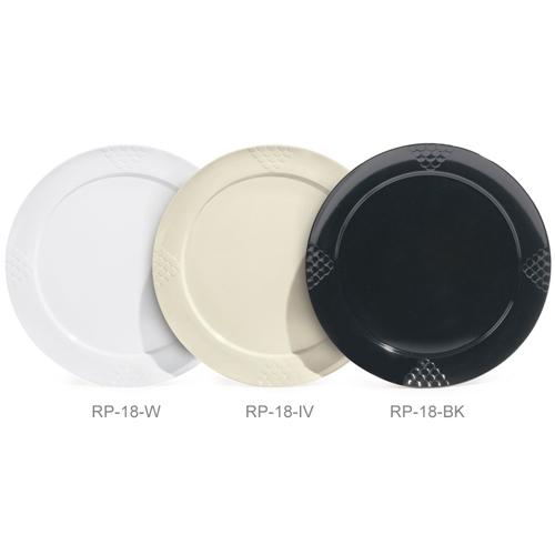 Melamine Plate, Round, Sonoma Series, 18,