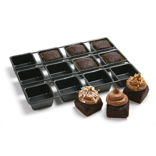 Norpro Nonstick Linking Square Cupcake Pan