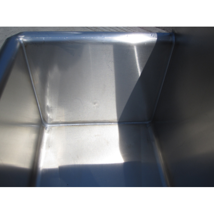 Custom Made Hand Sink Commercial Stainless Steel Kitchen Sink  Size 6 Feet