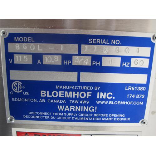 Bloemhof Bread & Roll Moulder model 860L