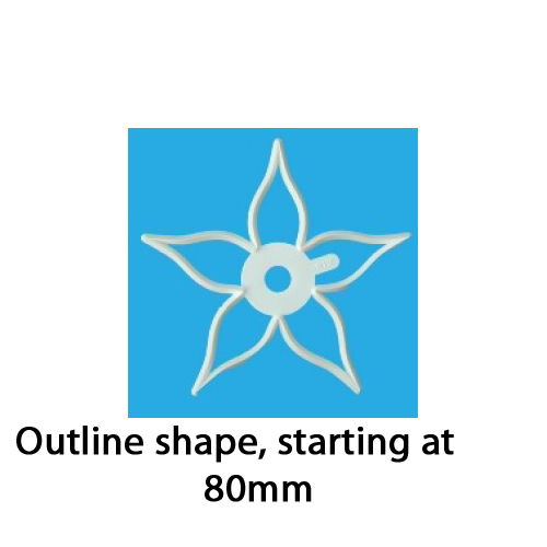 Orchard Calyx Cutter--Outline Shape, 80mm & Larger