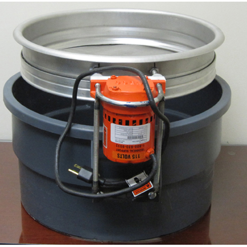 Custom made Hands Free Electric Flour Sifter - Main