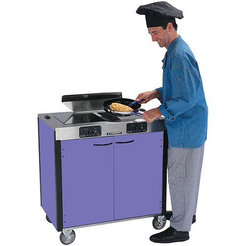 Lakeside 2075 Creation Express Mobile Induction Cooking Station