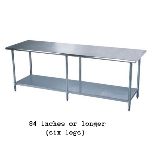 All-Stainless Work Table 84