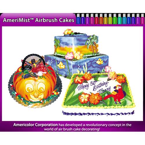 Amerimist Airbrush Cakes