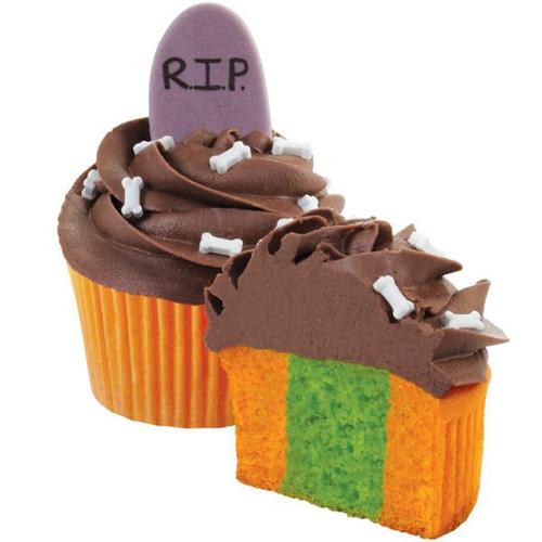 Wilton Tombstone Cupcake