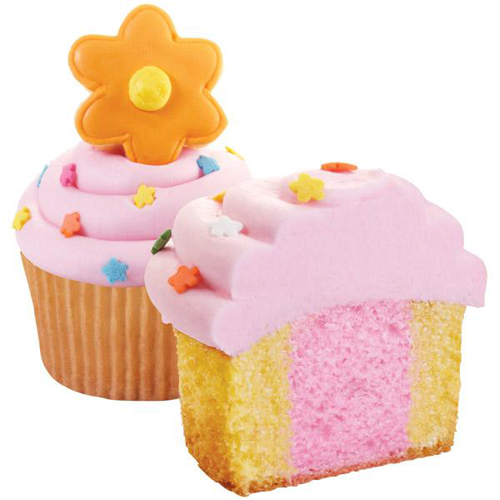 Wilton First Spring Flowers Cupcake