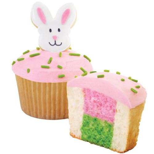 Wilton Peek-A-Boo Bunny Cupcake