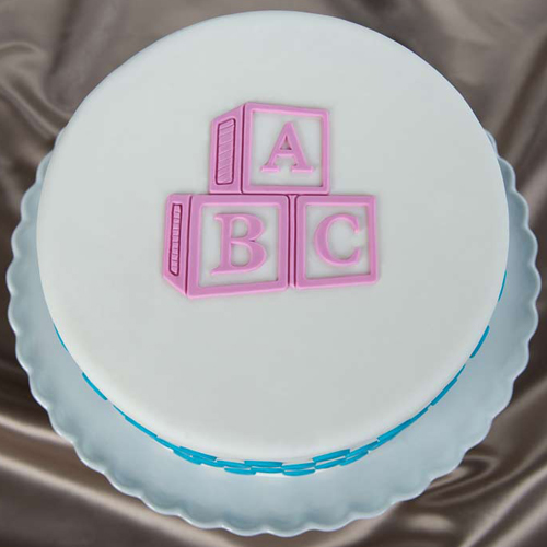 ABC-Blocks Cake
