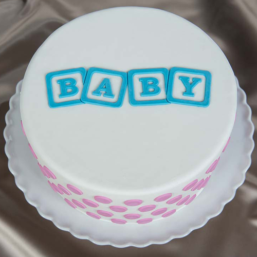 Baby-Blocks Cake