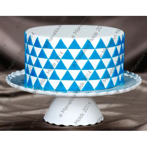 Simply-Triangles Cake