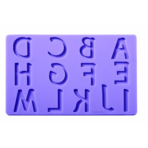 Wilton Fondant and Gum Paste Mold Set, Letters & Numbers