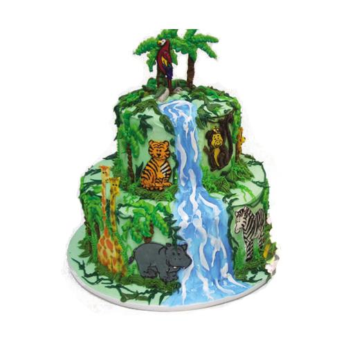 Americolor Animal Cake