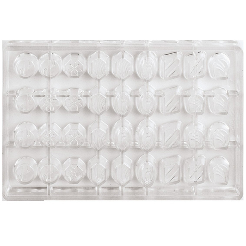 Polycarbonate Mold, Assorted Shapes