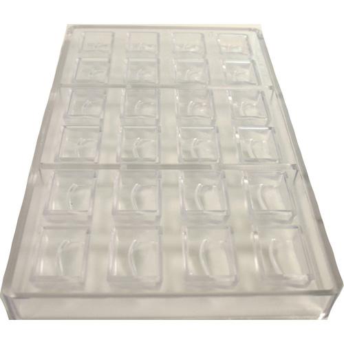 Polycarbonate Mold, Rectangular Cavities