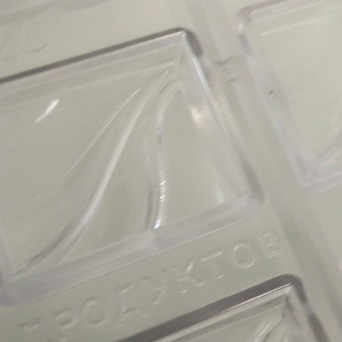 Polycarbonate Mold with Rectangular Cavities
