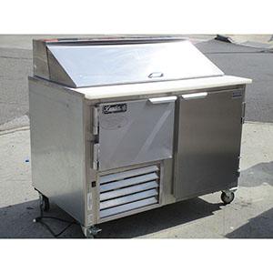 Leader Sandwich Prep Table Cooler LM Excellent Condition - Sandwich prep table cooler