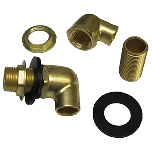 Krowne Metal 21 190l Wall Faucet Mounting Kit Low Lead