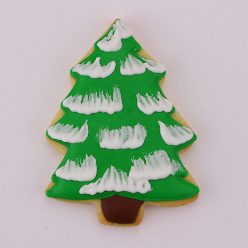 ann clark small christmas tree cookie cutter enlarge image