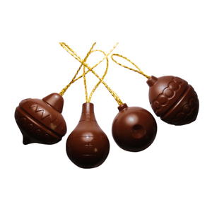 Polycarbonate Chocolate Mold Christmas Tree Ornaments 4