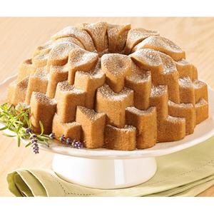 Nordicware Commercial Blossom Bundt Cake Pan Bundt Baking
