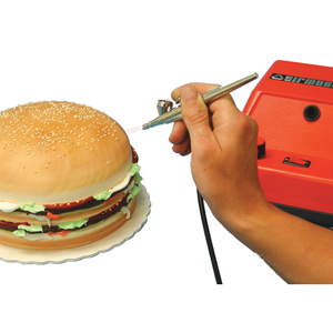 Kopykake airbrush machine for cake decorating with for Airbrush cake decoration